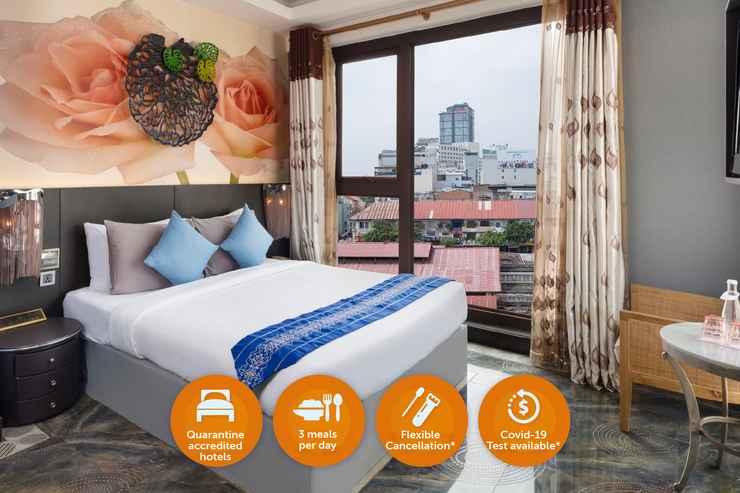 BEDROOM Khách Sạn Cách Ly - A&Em Hotel Phan Bội Châu