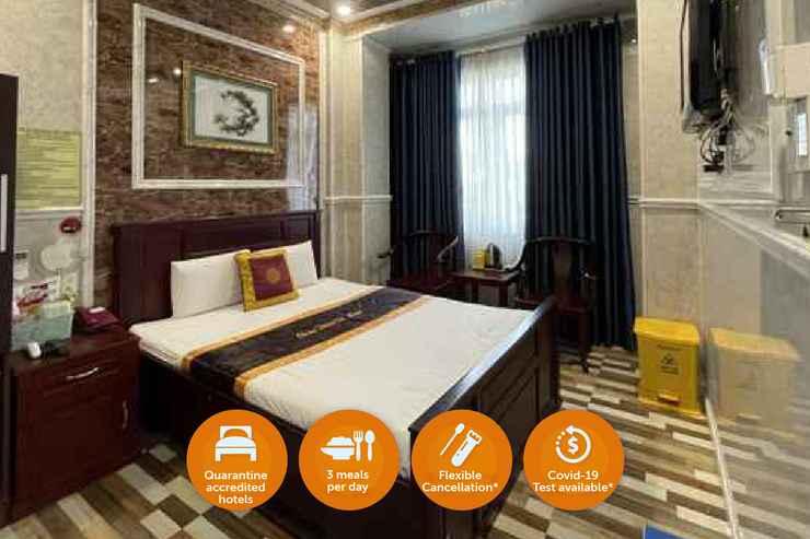 BEDROOM Khách Sạn Cách Ly - Châu Thiên Tứ Hotel TVH