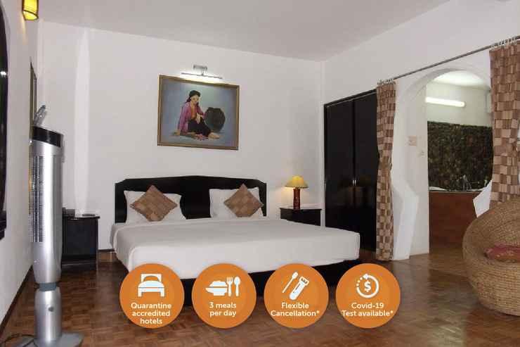 BEDROOM Quarantine Hotel - Phuong Nam Resort Can Gio