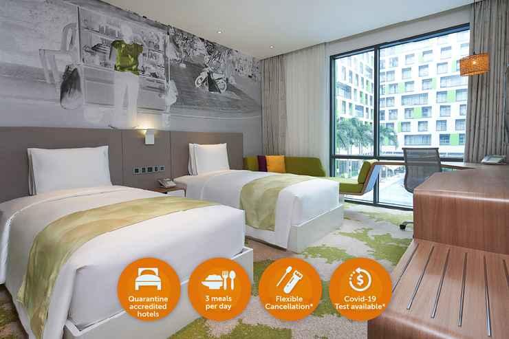 BEDROOM Khách Sạn Cách Ly - Holiday Inn & Suites Saigon Airport