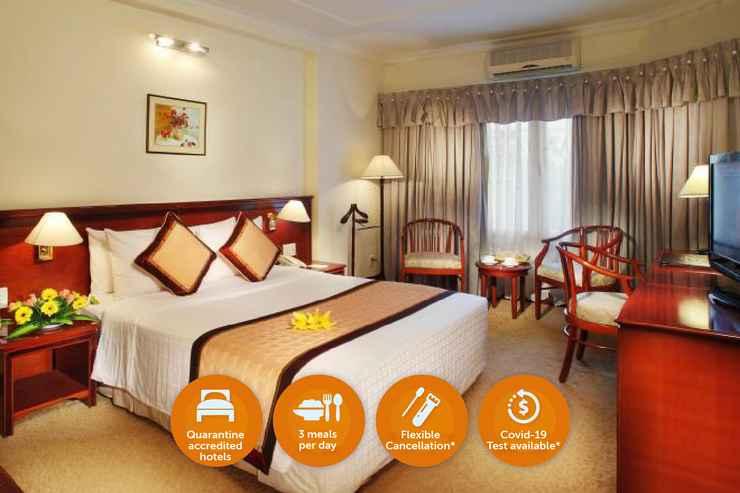 BEDROOM Khách Sạn Cách Ly - Đệ Nhất Hotel