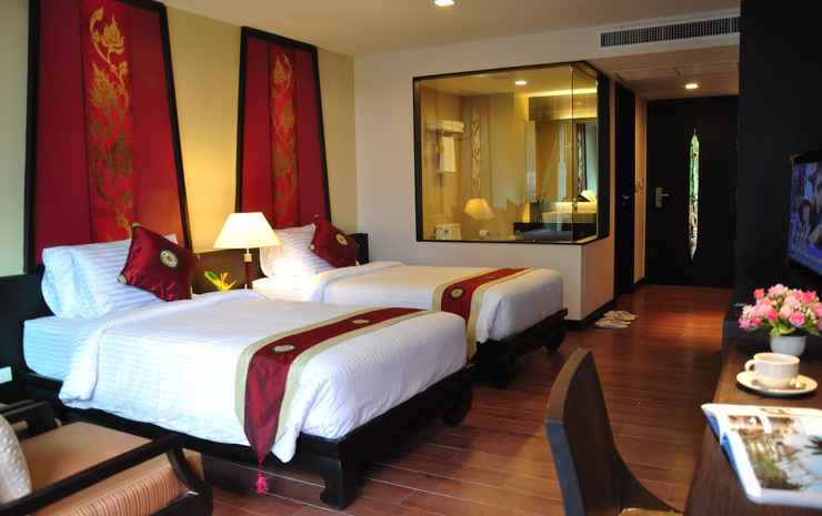Royal Thai Pavilion Jomtien Boutique Chonburi - Side Seaview Deluxe Room with Breakfast - Twin/Double Bed