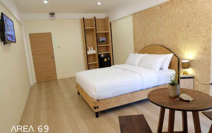 Area 69 Don Muang Airport Maison Bangkok - Deluxe Double Bedroom