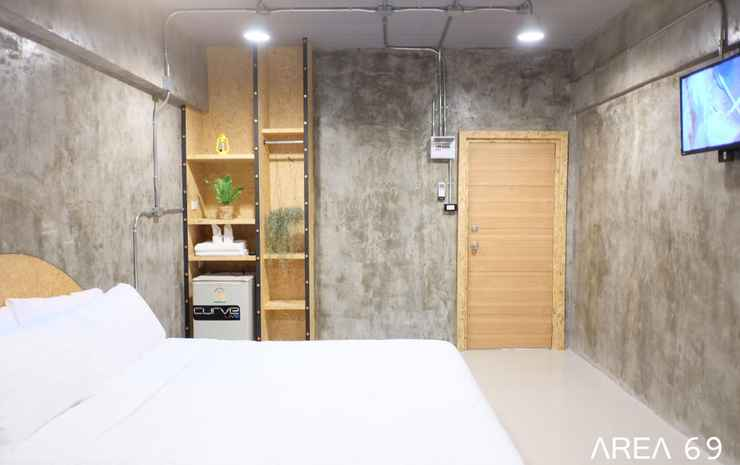 Area 69 Don Muang Airport Maison Bangkok - Loft Designed Double Bedroom