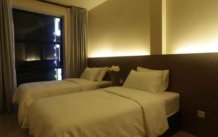I Am Jazz Boutique Hotel Johor - Deluxe Twin Room