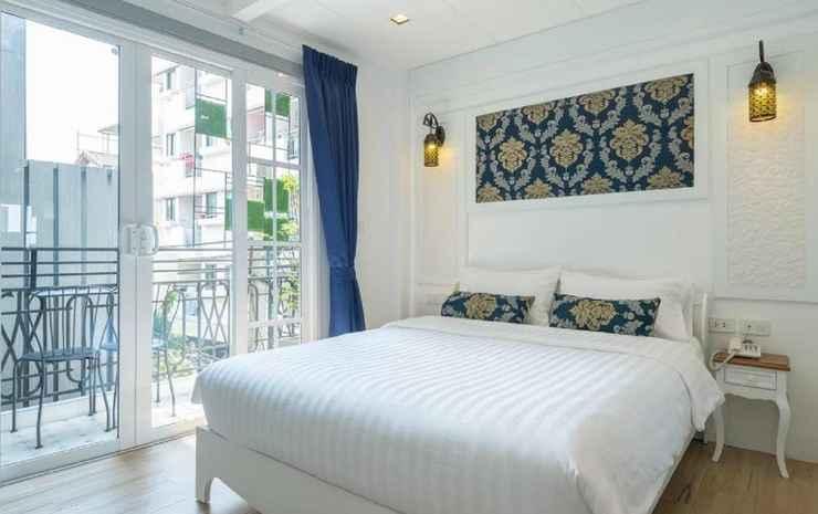 White Ivory Bed & Breakfast Bangkok - Deluxe Double Room with Balcony RO