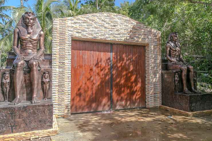 EXTERIOR_BUILDING Astonishing, 6-Star, Private Beach Villa