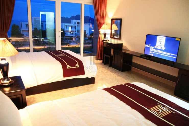 BEDROOM Golden Gem Tuan Chau Hotel
