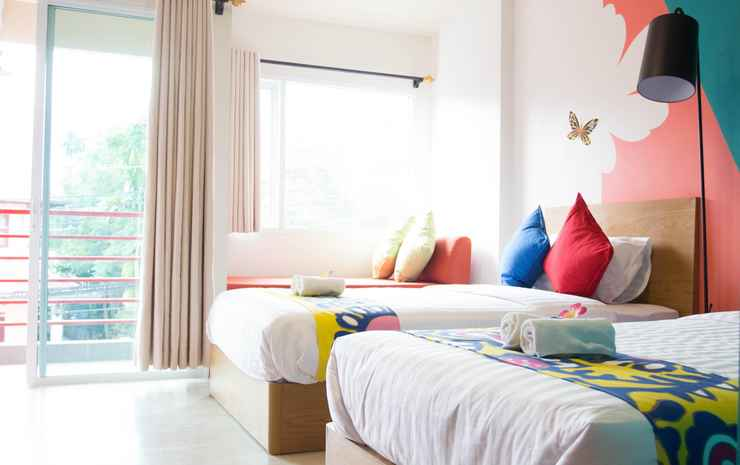 Non Nid Non Noi Design Hotel  Chiang Mai - Standard Twin Room - Room Only NR