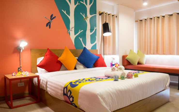 Non Nid Non Noi Design Hotel  Chiang Mai - Deluxe Family Room - Room Only NR