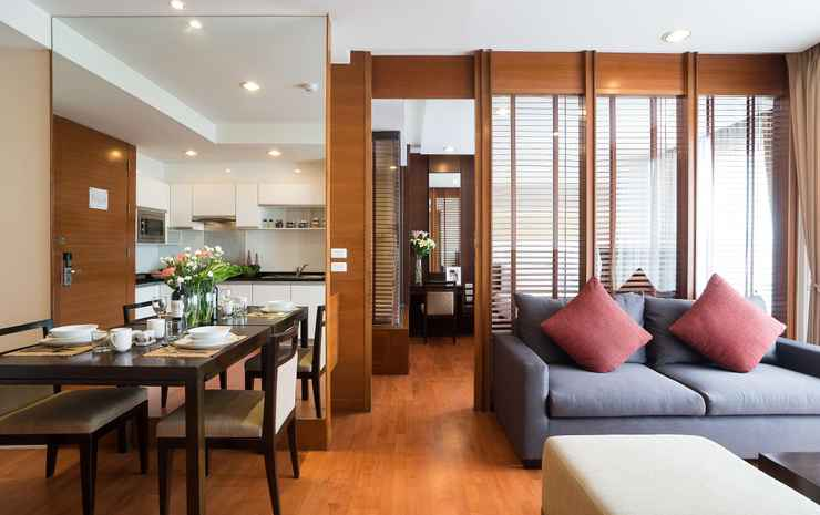 Amanta Hotel and Residence Ratchada Bangkok - ONE BEDROOM DELUXE SUITE CITY VIEW - Room Only