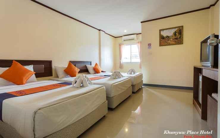 Khunyuw Hotel Chiang Mai - Standard Triple Room