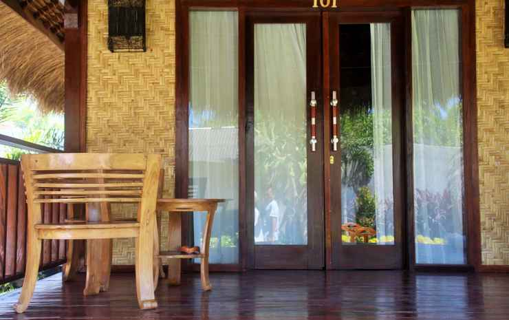 Aldi's Bungalow  Lombok - Exotic Berugak Bungalow With Twin Bed
