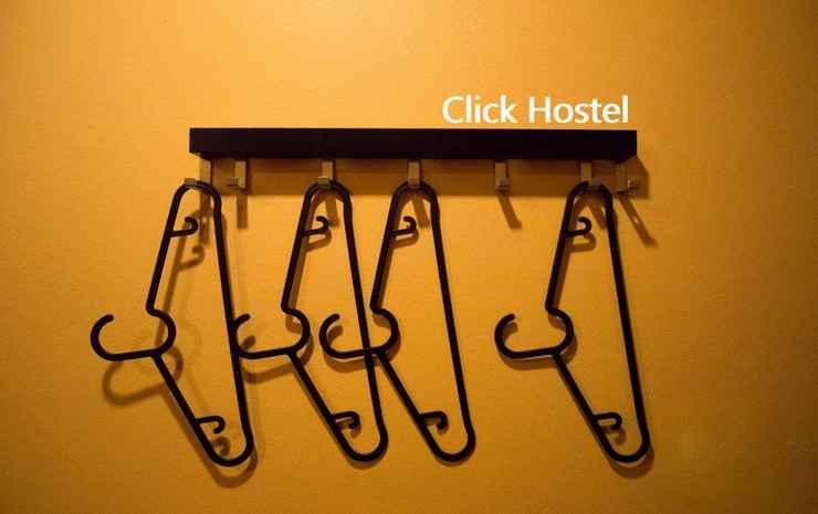 Click Hostel Bangkok - Queen bunk bed with private bathroom (VIP2&4)