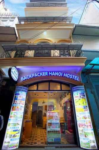 EXTERIOR_BUILDING Backpacker Hanoi Hostel