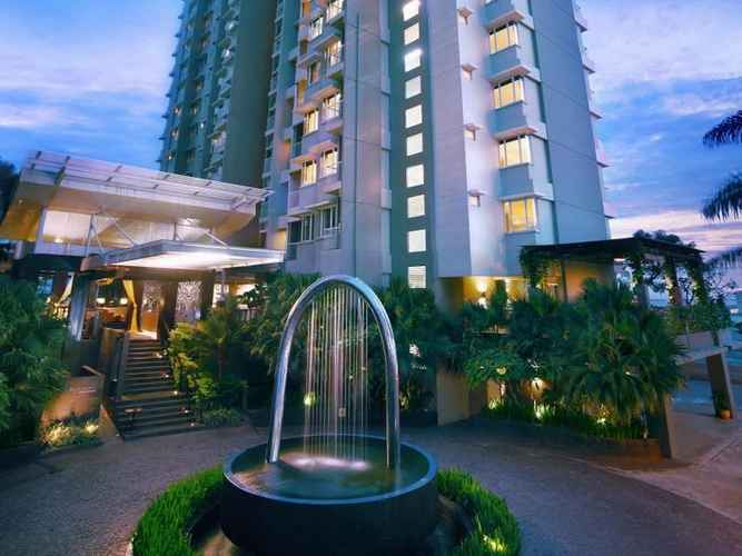LOBBY The Malibu Suites Balikpapan by Sissae Living