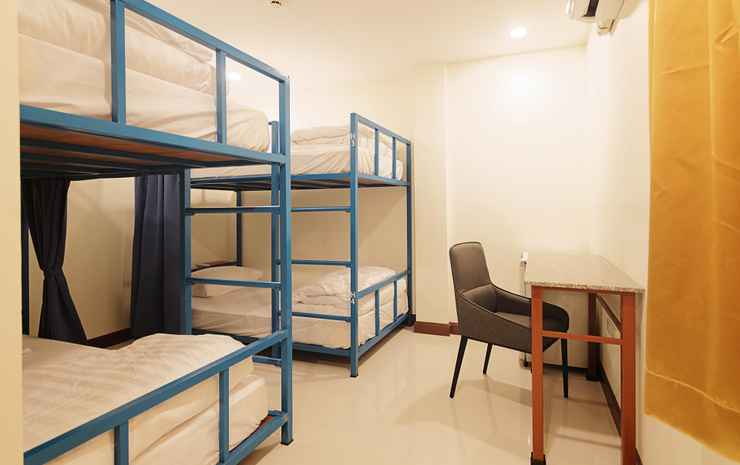 Happy Hostel  Pattaya Chonburi - Private dormitory 4 beds with private bahtroom