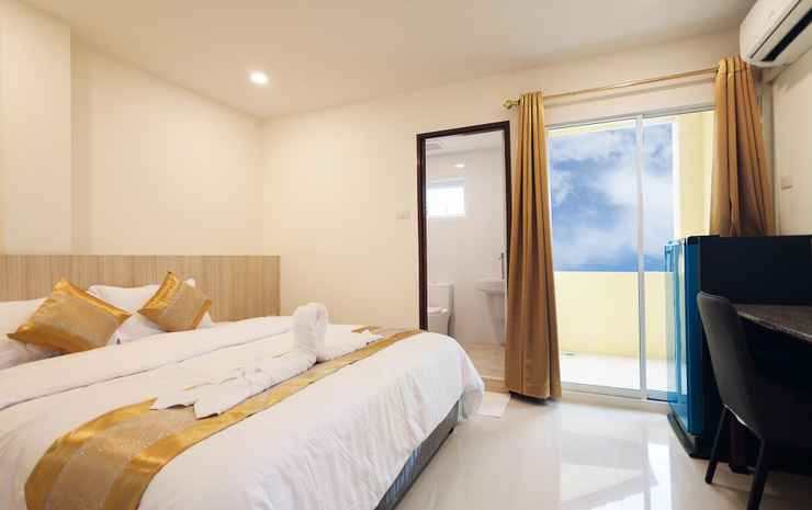 Happy Hostel  Pattaya Chonburi - Private double bed with private bathroom