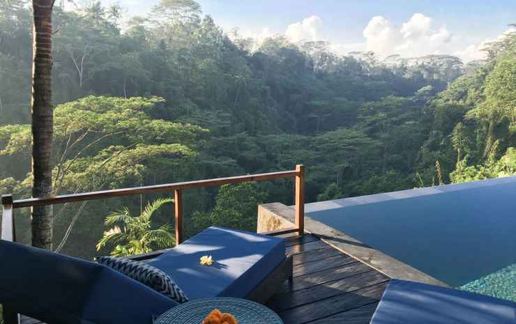 Ubud Valley Boutique Resort Bali - One-Bedroom Private Pool Villa with Valley View