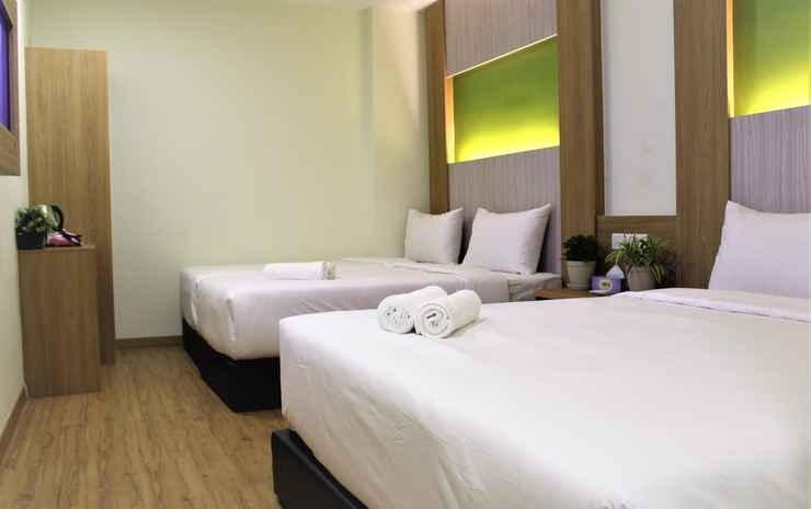 Eco Hotel @ Bukit Bintang Kuala Lumpur - Deluxe Family Room - Room Only