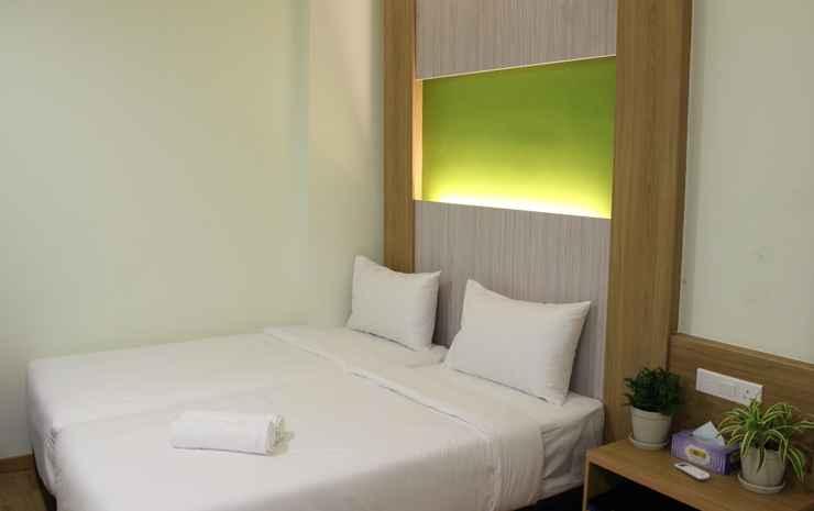 Eco Hotel @ Bukit Bintang Kuala Lumpur - Deluxe Twin With Breakfast