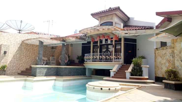 LOBBY T-Rooms Homestay Palembang@Lapangan Hatta