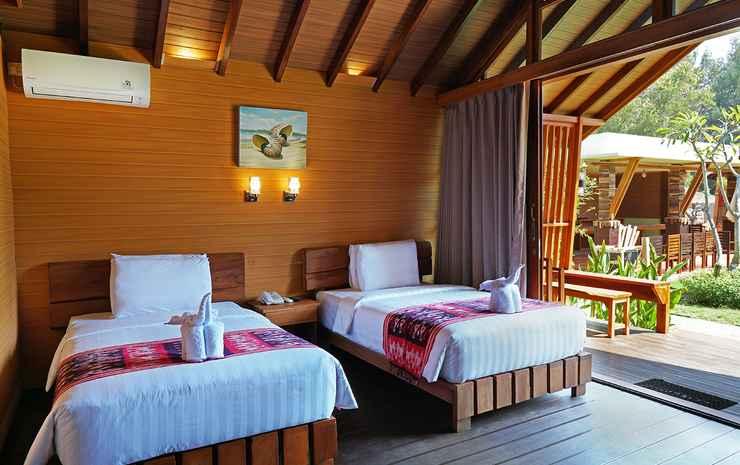 Wah Resort Gili Trawangan Lombok - Twin Room with Garden View