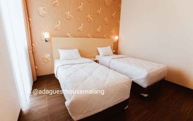 Comfy Room at ADA Guesthouse Malang - Twin Room