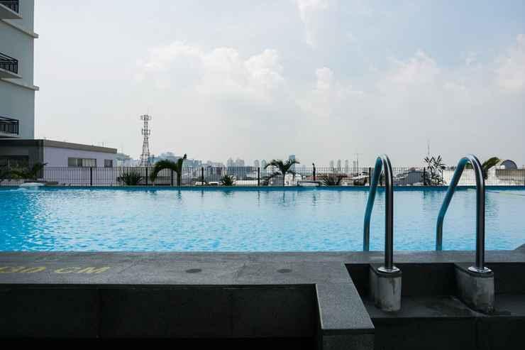SWIMMING_POOL Beautiful Studio Apartment @ Pasar Baru Mansion By Travelio
