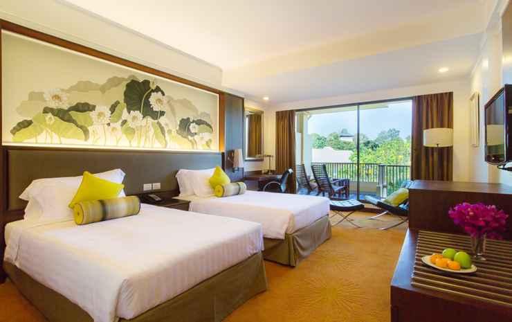 Dusit Thani Pattaya Chonburi - Double Premium Pemandangan Kebun