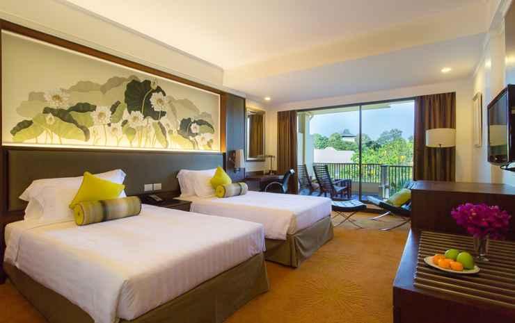 Dusit Thani Pattaya Chonburi - Twin Premium Pemandangan Kebun