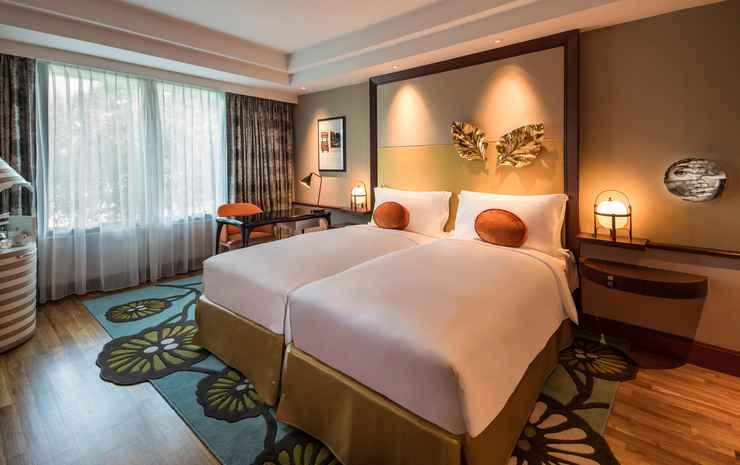 Sofitel Singapore Sentosa Resort & Spa Singapore - Twin Luxury Room, 2 Single Size Beds, Illy Coffee And Tea Facilities, Complimentary Wifi