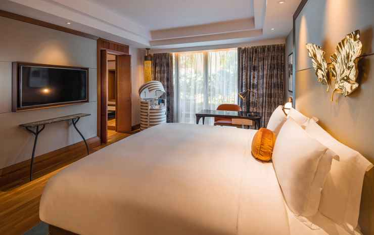Sofitel Singapore Sentosa Resort & Spa Singapore - Double Luxury Garden Room, 1 King Size Bed, Garden View, Illy Coffee And Tea Facilities, Wifi