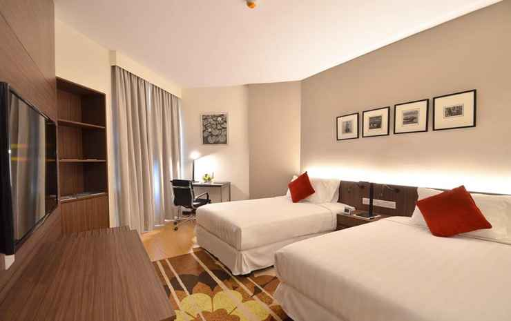 Oakwood Hotel & Residence Kuala Lumpur Kuala Lumpur - Apartment Deluxe Two Bedroom