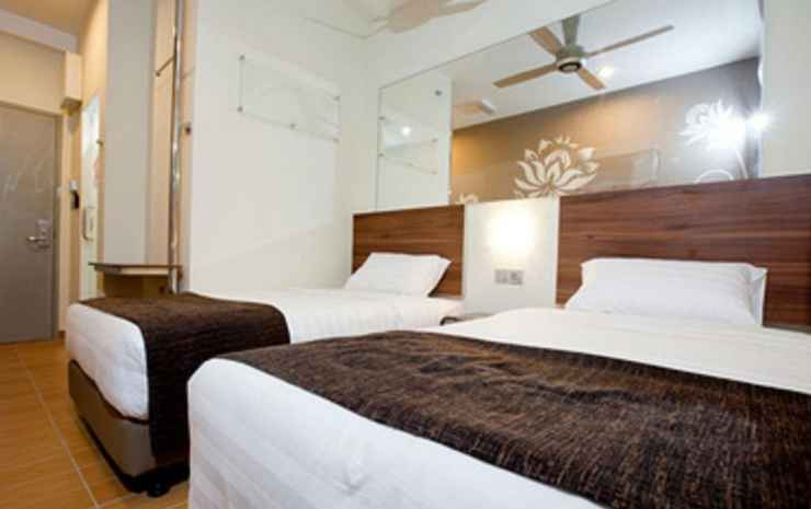 Tune Hotel Danga Bay Johor - Quadruple Standard