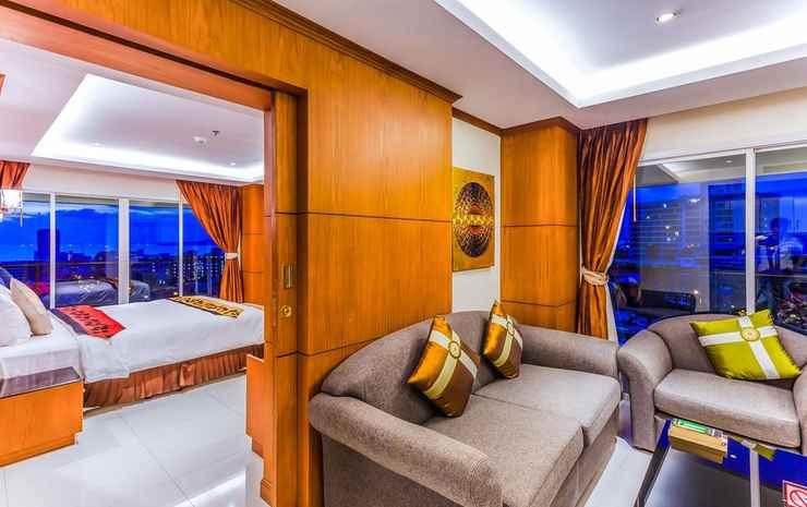 Tara Court Hotel Chonburi - Kamar Family Dua Kamar