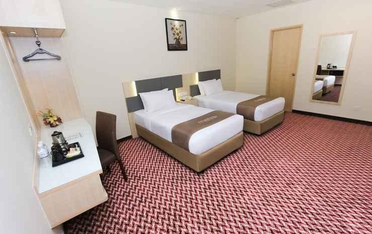 Metro Hotel Bukit Bintang Kuala Lumpur - Twin Dua Ranjang