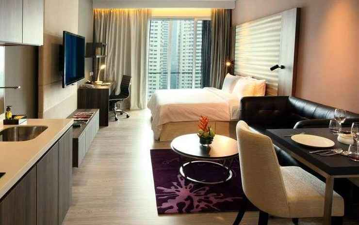 Ramada Suites by Wyndham Kuala Lumpur City Centre Kuala Lumpur - Double 1 King Bed City View Non-smoking