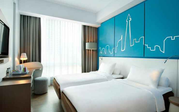 All Seasons Jakarta Thamrin Jakarta - Twin Superior Room With 2 New Fluffy Bedding Single Beds