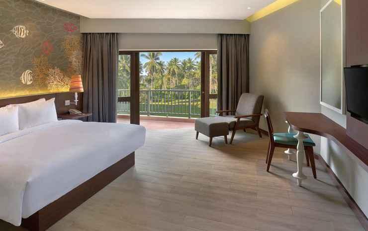 Mercure Manado Tateli Beach Resort Minahasa - Double Deluxe Pool Terrace With Double Bed