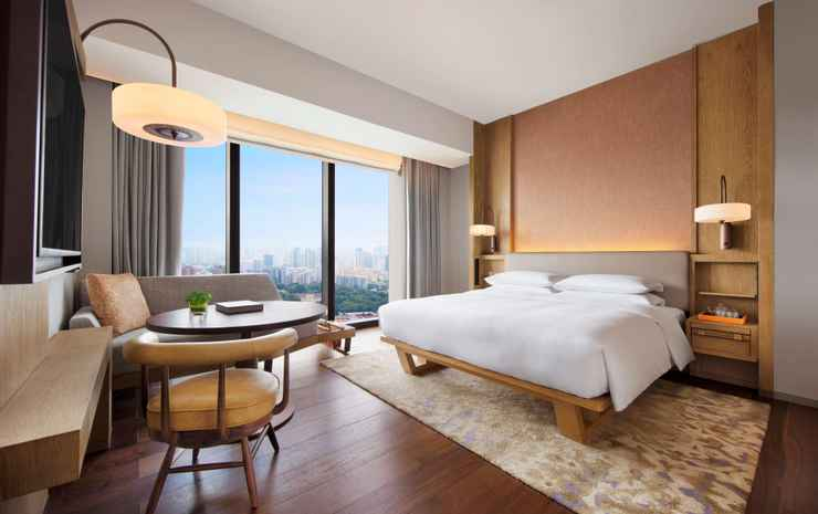 Andaz Singapore - a concept by Hyatt Singapore - Room 1 King Bed With Bay View, Deluxe