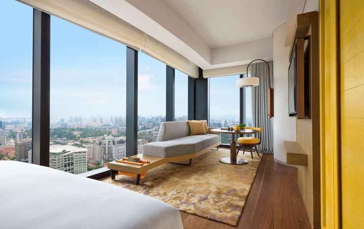 Andaz Singapore - a concept by Hyatt Singapore - Double 1 King Bed With City View, Deluxe
