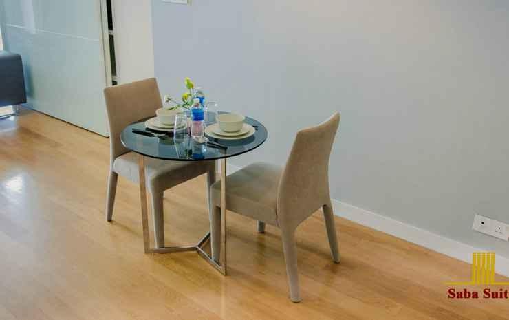 Saba Suites at Platinum KLCC Bukit Bintang Kuala Lumpur Kuala Lumpur - Apartment City View Two Bedrooms