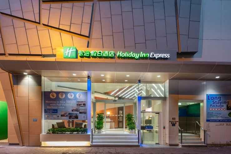 EXTERIOR_BUILDING ฮอลิเดย์ อินน์ เอกซ์เพรส ฮ่องกง โซโห