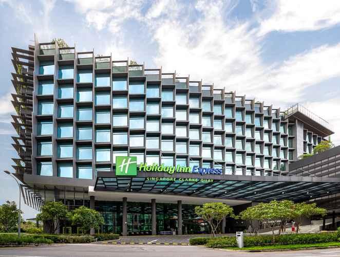 EXTERIOR_BUILDING ฮอลิเดย์อินน์ เอ็กซ์เพรส สิงคโปร์ คลาร์กคีย์ (เอสจีคลีน)