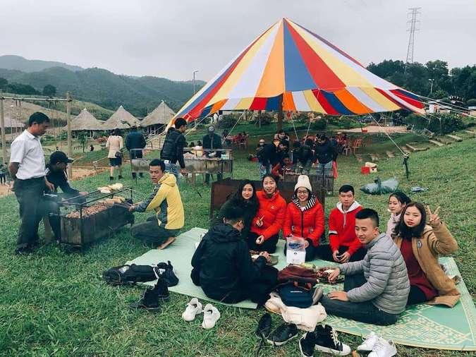 Một khu du lịch Thanh Hoá cực lý tưởng để tổ chức tiệc nướng ngoài trời cùng bạn bè hoặc gia đình