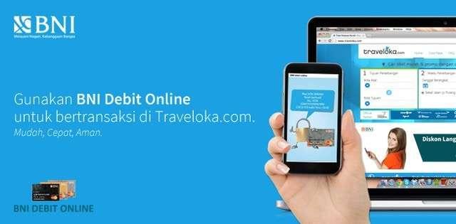 Cara Pakai Bni Debit Online Di Traveloka Com