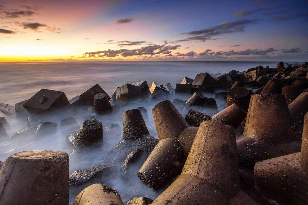 Pantai Glagah Pemecah Ombak Terbaik Di Kulon Progo
