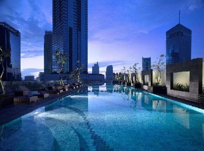 7 Hotel Dengan Infinity Pool Di Jakarta Dengan Pemandangan Luar Biasa