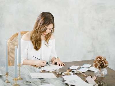 Atelier Plum Berbagi Ilmu Percantik Pesta Pernikahan dengan Kaligrafi, Nida Amalia
